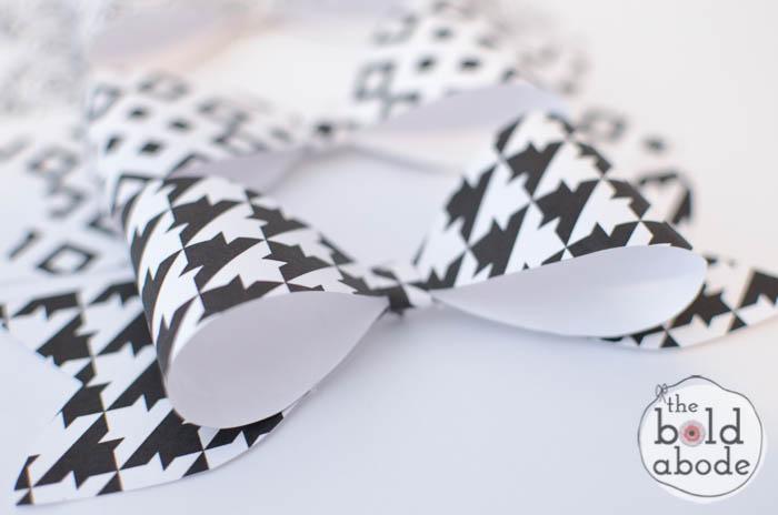 Super Cute Black and White Bows-4
