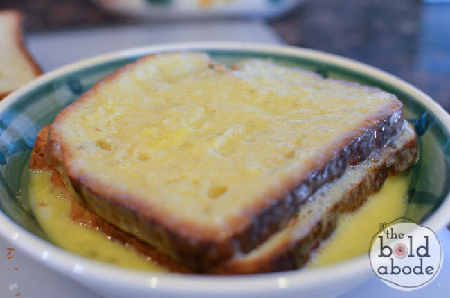 nutella cream cheese french toast-4