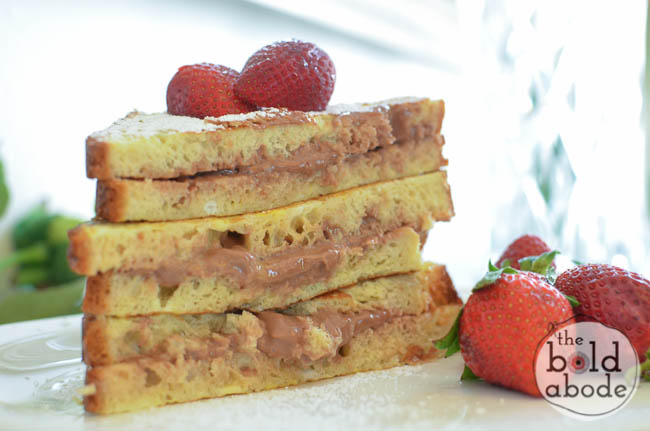 nutella cream cheese french toast-6