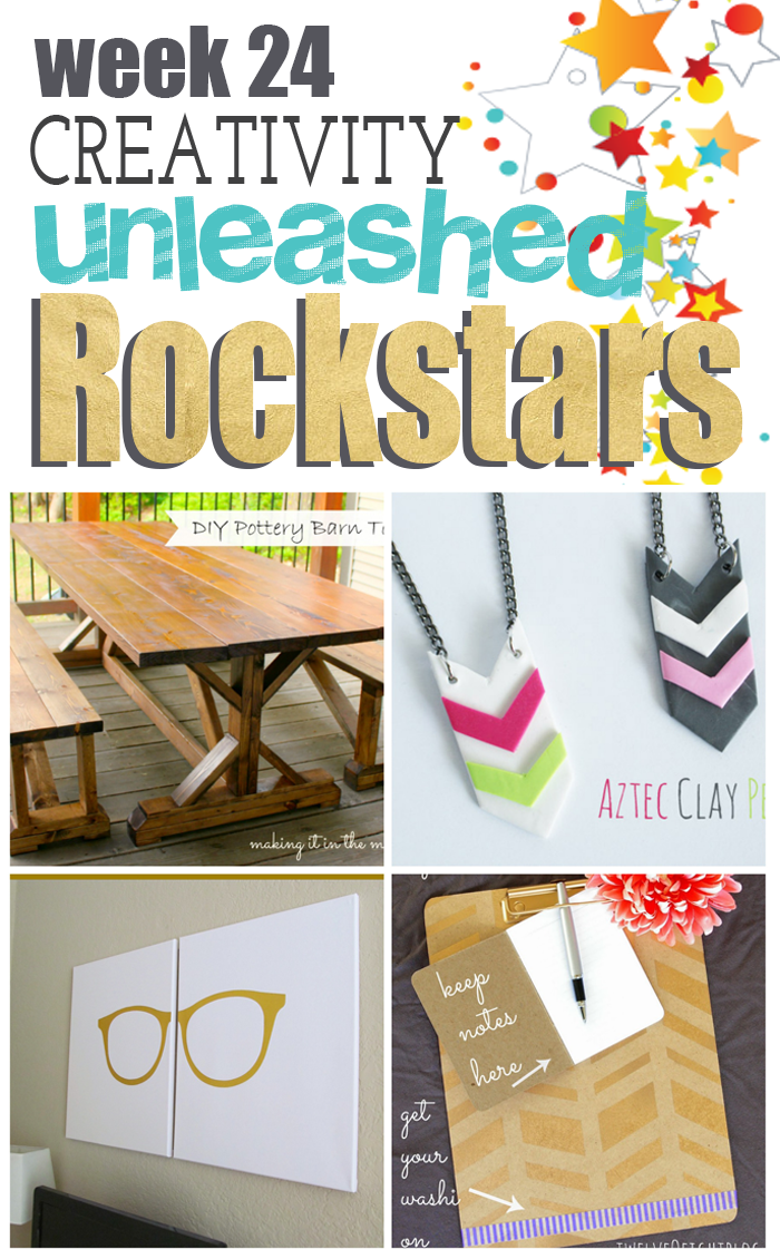 Which DIY is your favorite? Come Vote for the MEGA Rockstar of Creativity Unleashed Week 24!