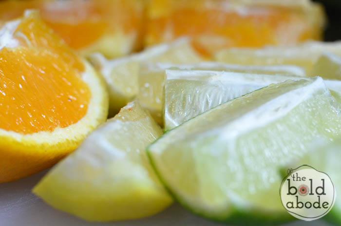 triple citrus slushie