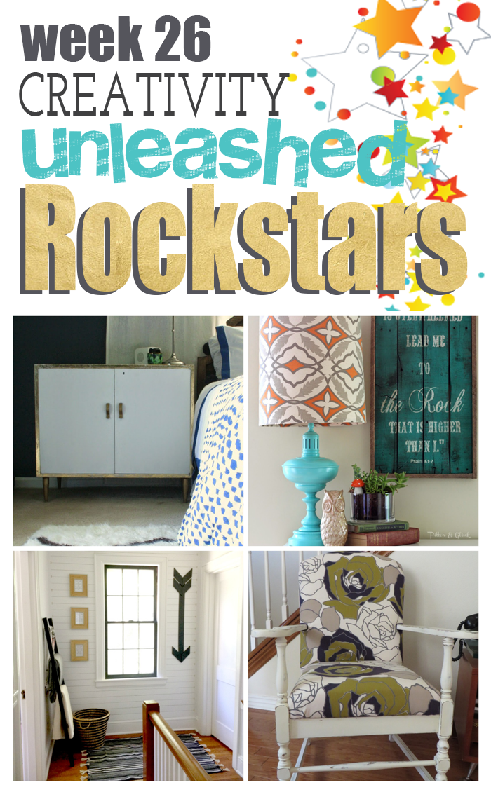 4 Amazing DIY Rockstars from Creativity Unleashed Week 25!
