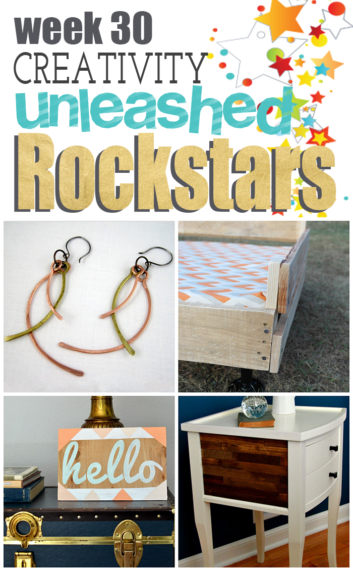 4 way cool projects from the Rockstars of Creativity Unleashed Week 30!