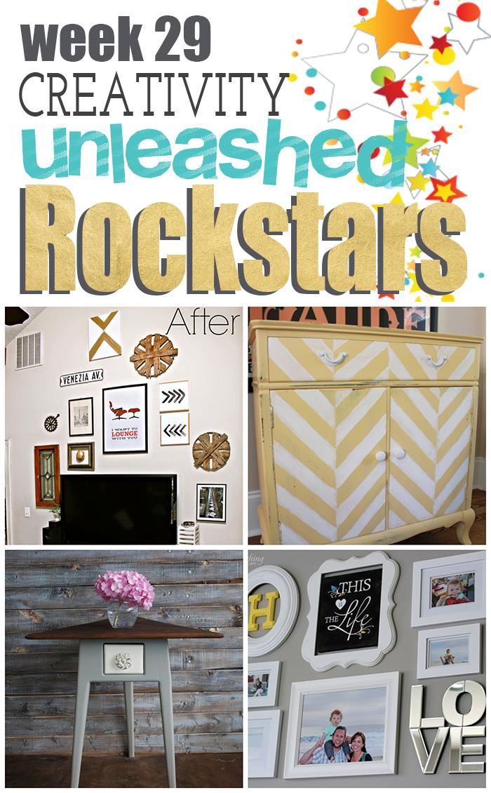 4 amazing rockstars from creativity unleashed week 29!