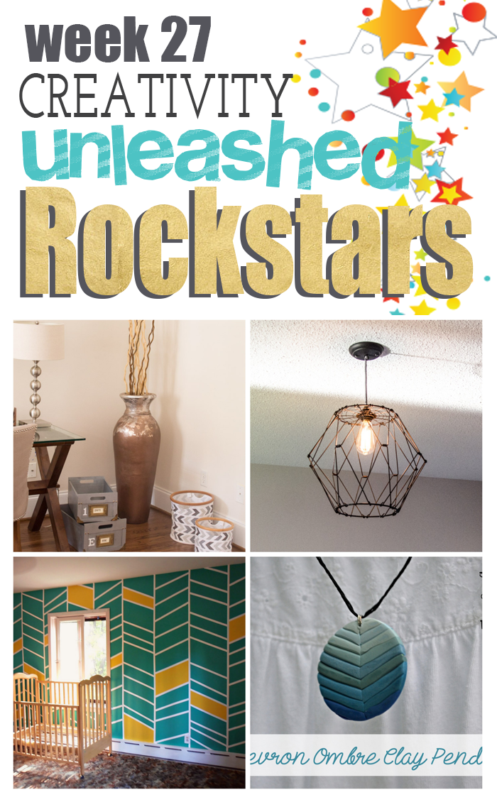 The DIY Rockstars from Creativity Unleashed Week 27! Come vote for your favorite!