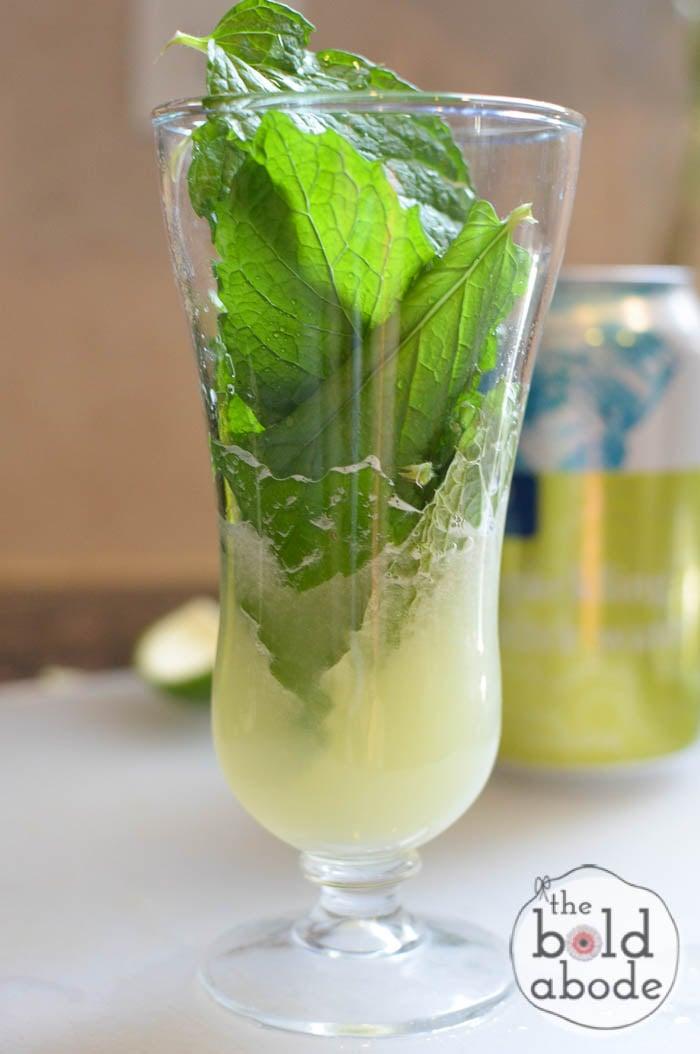 sparkling mojito water-3
