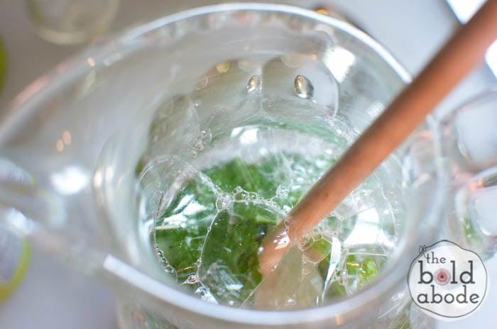 sparkling mojito water-7