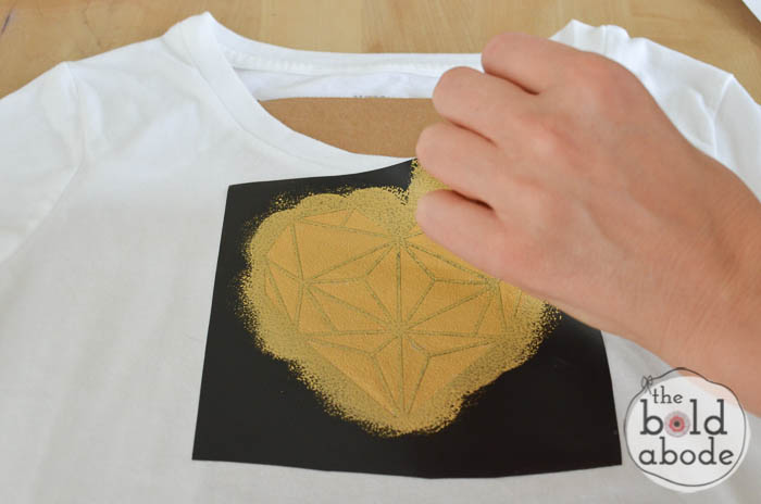 geometric heart t-shirt-6