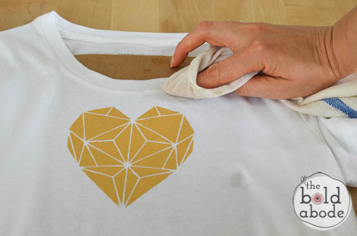 geometric heart t-shirt-8