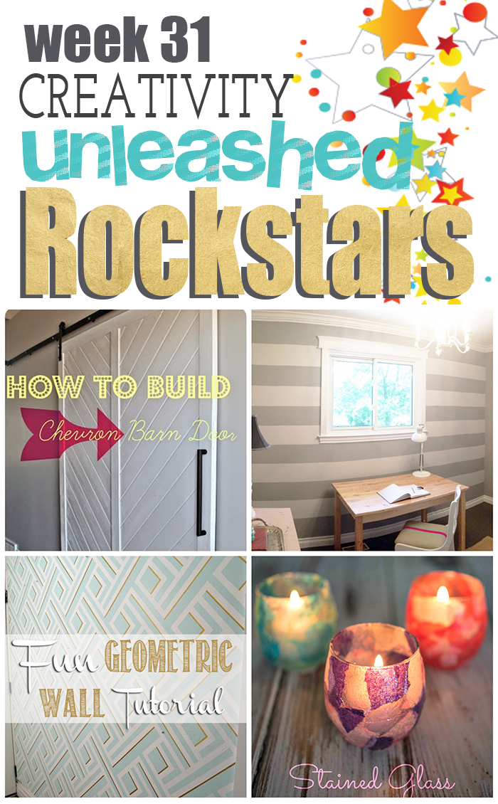 4 amazing DIYs from The Rockstars from Creativity Unleashed Week 31