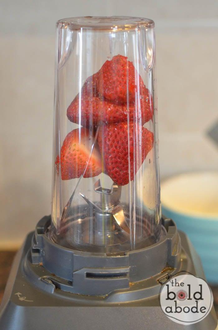 strawberry peanutbutter
