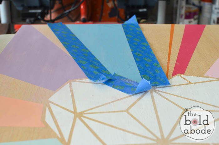 geometric heart wall art-10