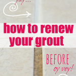 How to Renew Grout