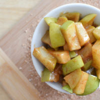 microwaved cinnamon apples-8