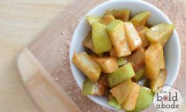 microwaved cinnamon apples-8