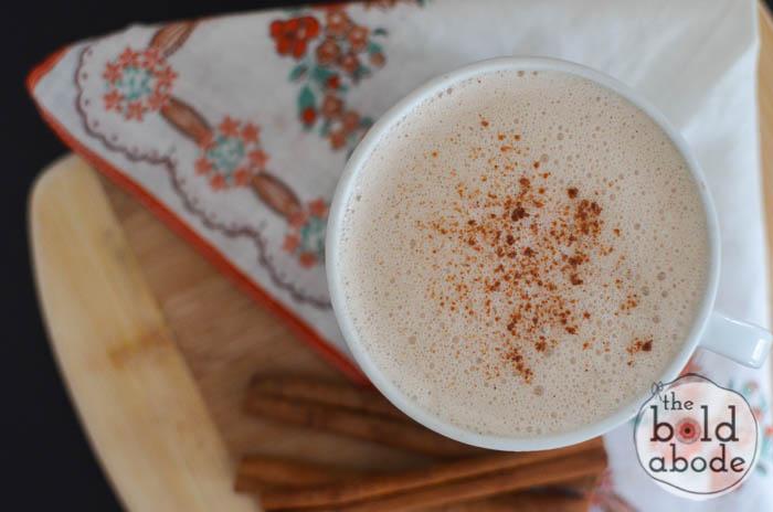 pumpkin spiced steamed milk-2