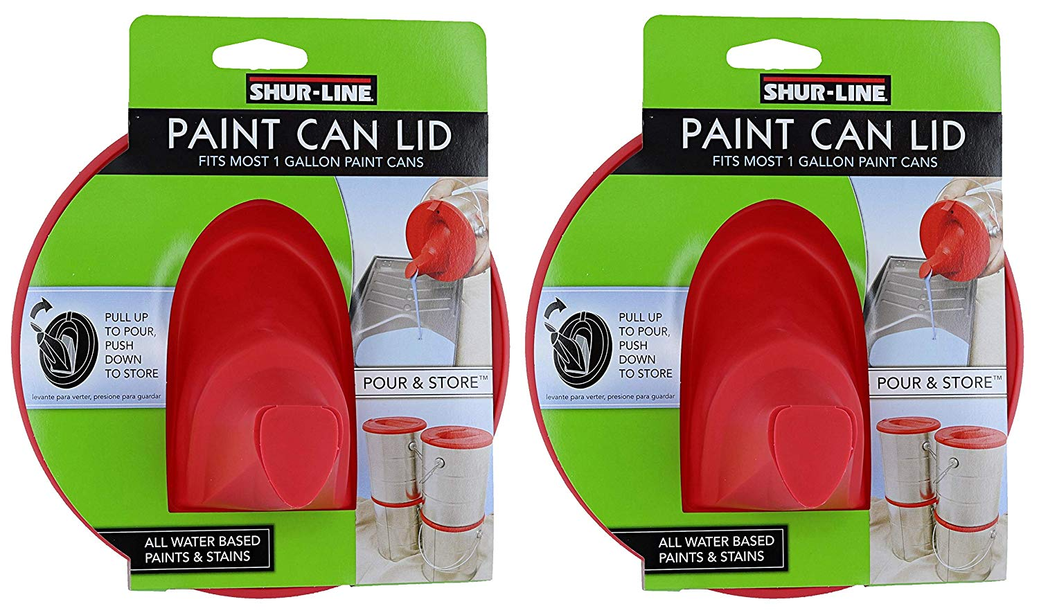 shur line paint can lids