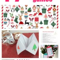 17 Free Printable Christmas Games