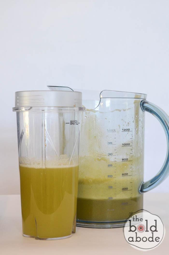 apple juice smoothie