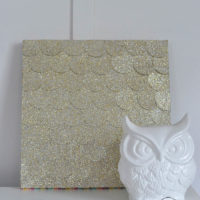 Glitter Dot Wall Art