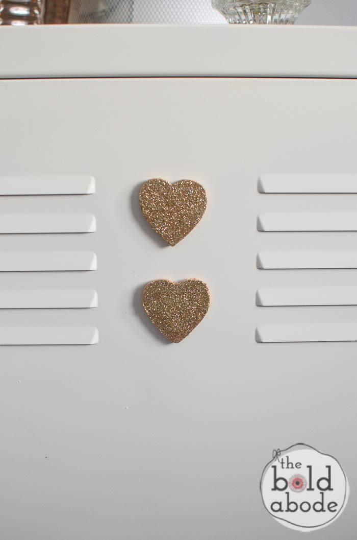 glitter heart magnets-11