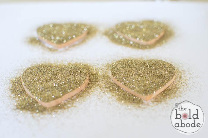 glitter heart magnets-5