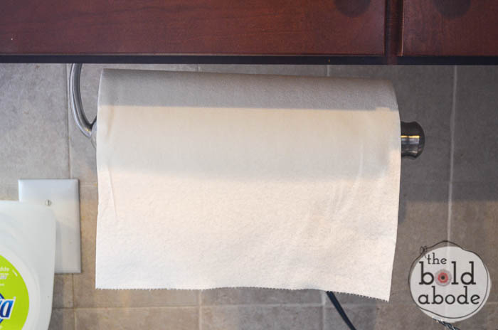 install a paper towel holder-8