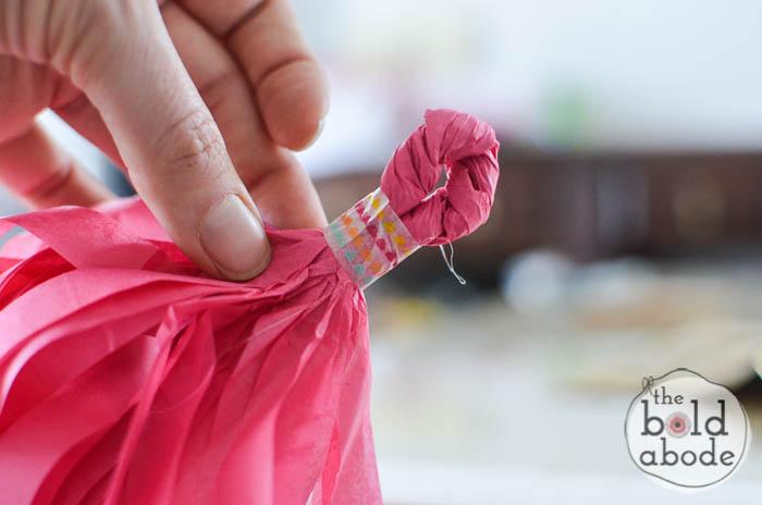 tissue paper tassels-6