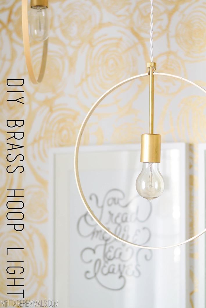 28 brilliant diy lighting ideas you can totally do - Diy pendant light fixture ...