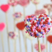 White Chocolate Covered Marshmallow Hearts