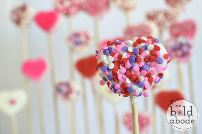 chocolate covered marshmallow heart garden-14