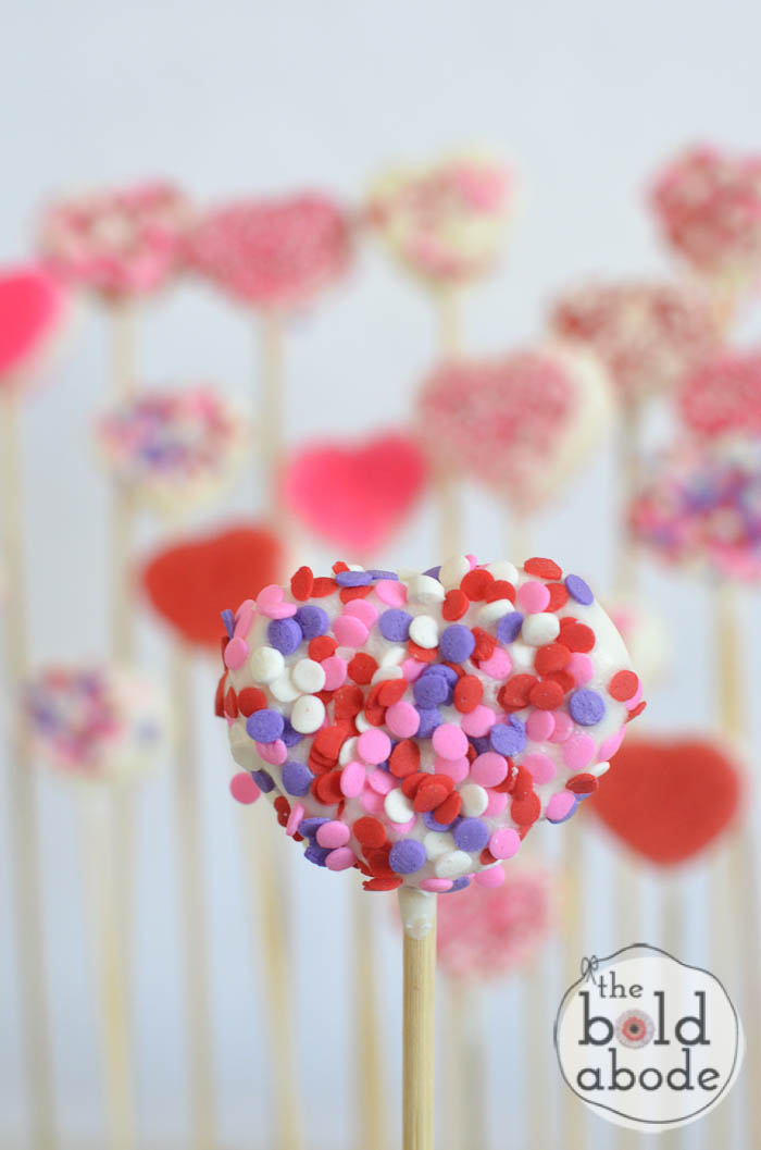 chocolate covered marshmallow heart garden-19