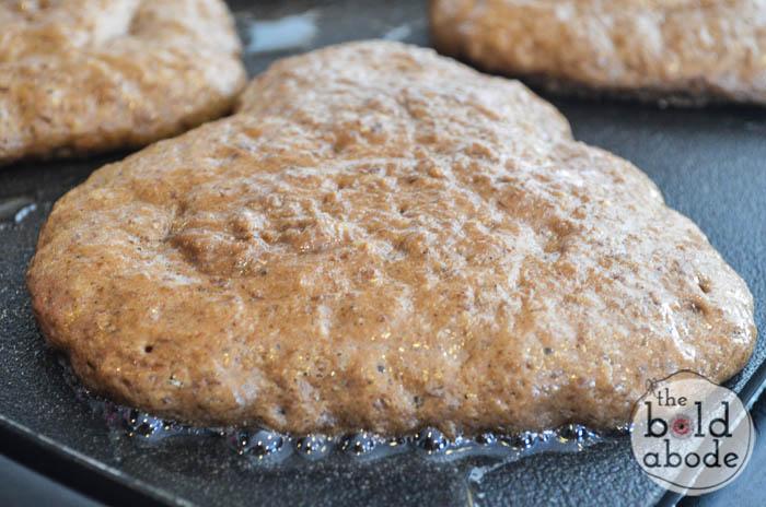 chocolate heart pancakes-3