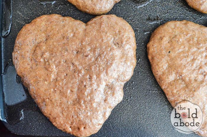 chocolate heart pancakes-4