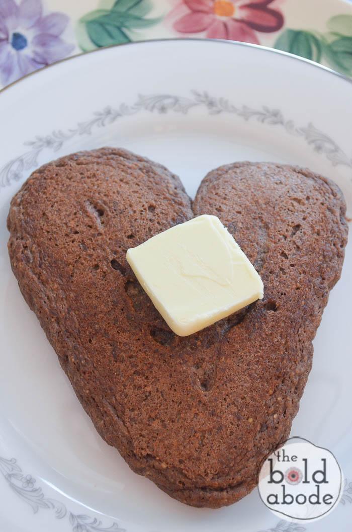 chocolate heart pancakes-8