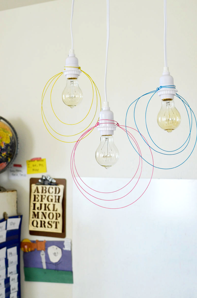 28 brilliant diy lighting ideas you can totally do for Diy pendant light