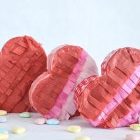 Mini Heart Piñatas: A Fun Valentine Treat!