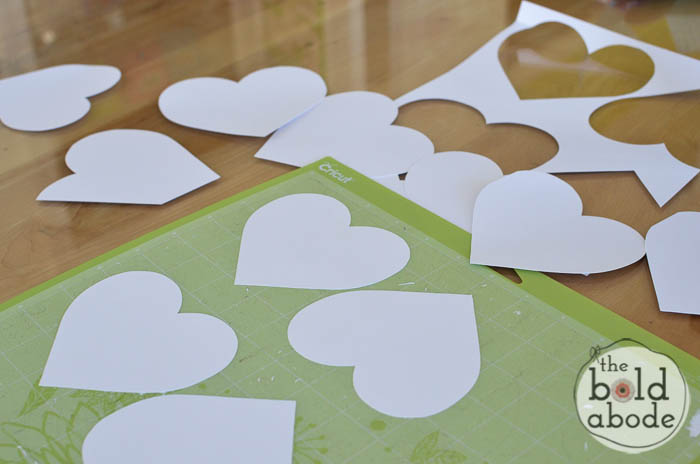 cut out the hearts