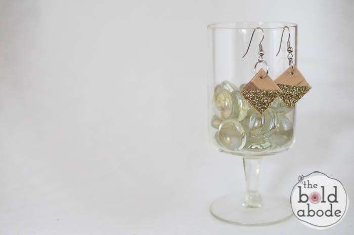 popsicle stick glitter earrings-11