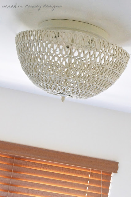 DIY Folded Rope Dome Light
