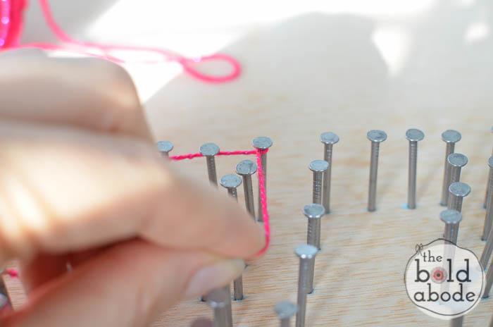 shazam string art-10