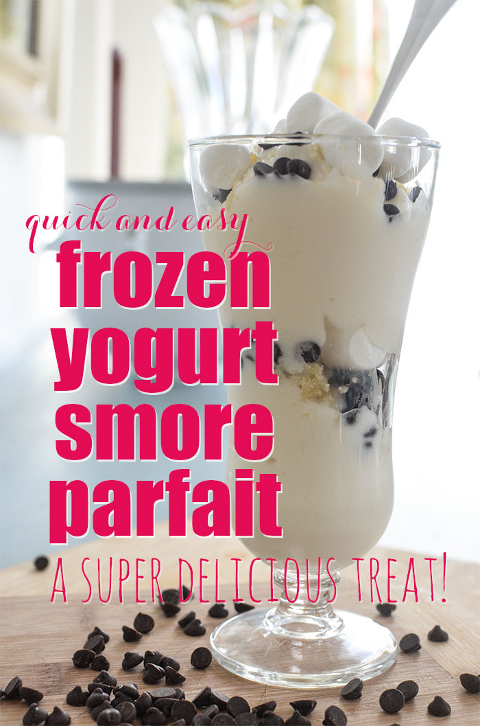 Gluten Free Smore Parfait Recipe:  I can't believe how quick and easy this is to make!  Simply delicious!
