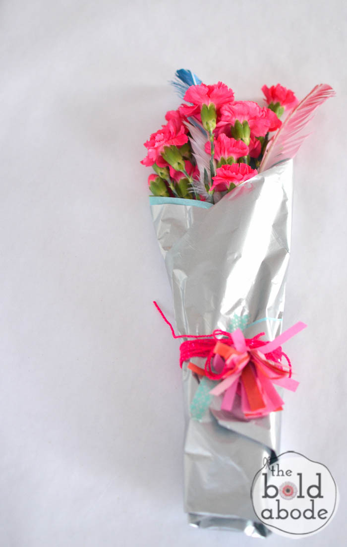 transform a 5 dollar bouquet into a stunning gift-10