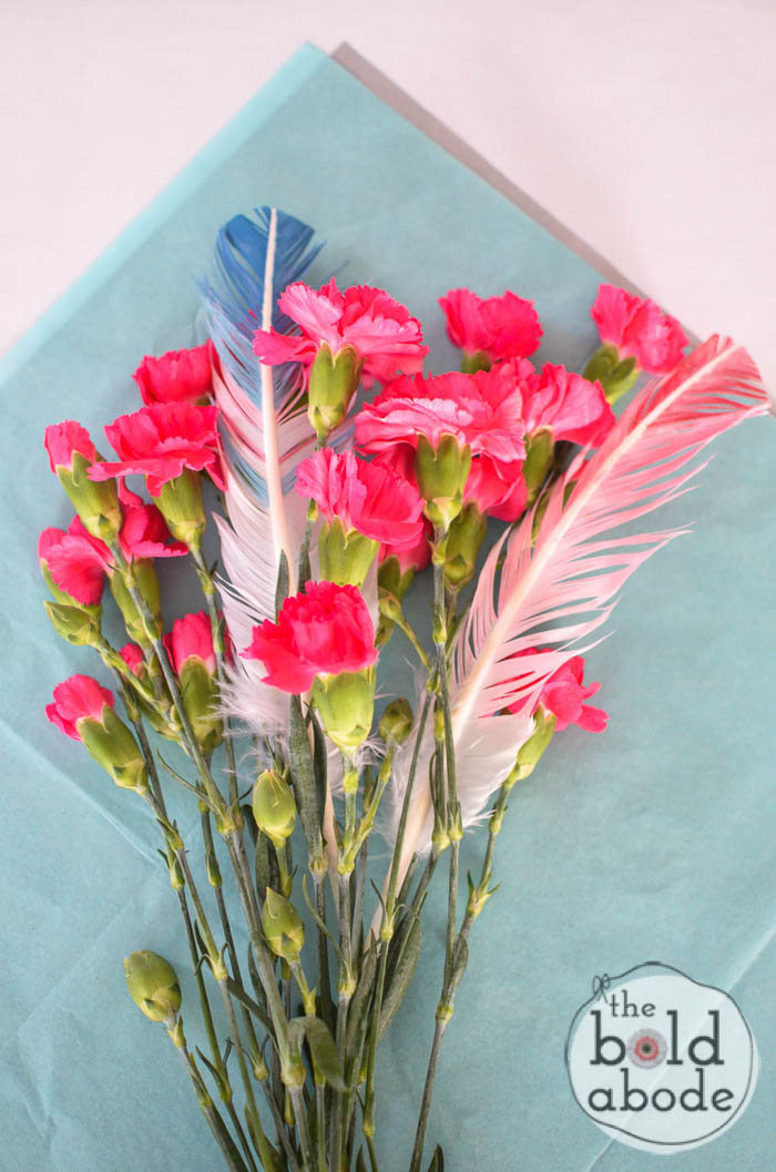 transform a 5 dollar bouquet into a stunning gift-3