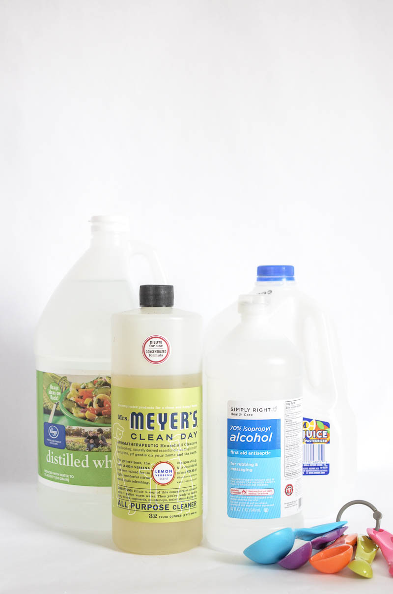 Stop buying those nasty chemicals to clean your home.  This All Natural All Purpose Household Cleaner is better for your family and lighter on your wallet!