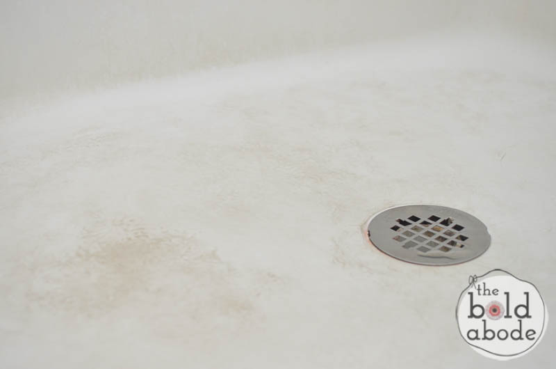 how to clean a dirty shower