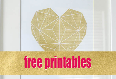 image relating to Printable Gold Foil identify Gold Foil Printables Triptic