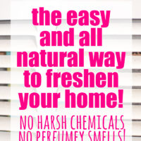 How to Freshen Your Whole House – Naturally!