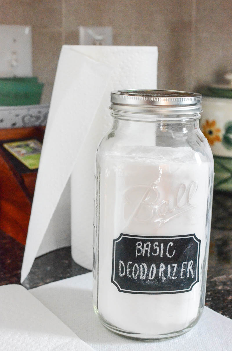 how to freshen a stinky trashcan