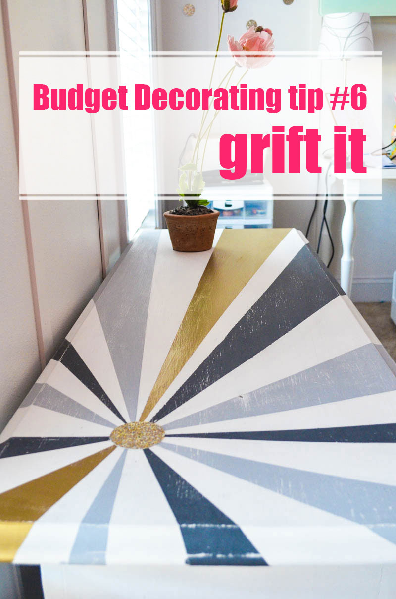 how to decorate on a tight budget